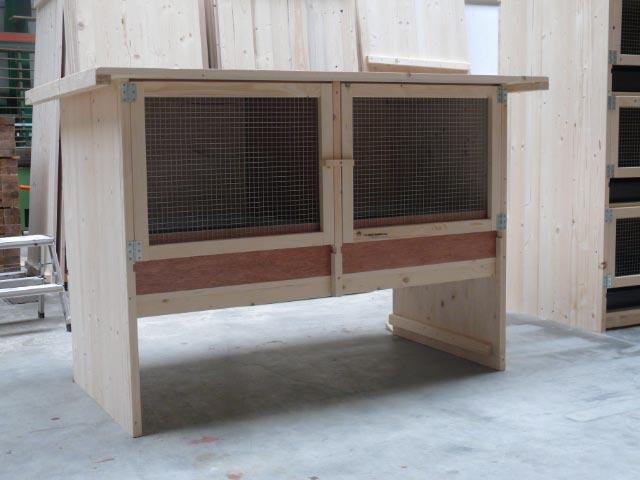 kaninchenstall mit kotwanne lehnertversion kategorie b kaninchenstall discount. Black Bedroom Furniture Sets. Home Design Ideas